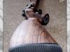 PAŽBA 601CZ - Ukázka tvarování pistolové rukojeti a dlaňového úchopu